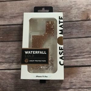 CASEMATE WATERFALL GOLD IPHONE 11 PRO COVER